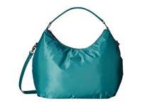 Lipault Paris Hobo Bag L Aqua Hobo Handbags Blue