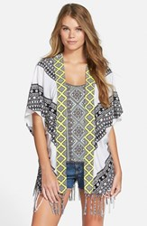 Junior Women's Rip Curl 'Gypsy Road' Kimono White