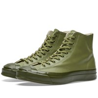 Converse Jack Purcell Signature Hi Rubber Green