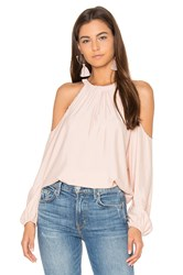 Ramy Brook Jackson Blouse Blush