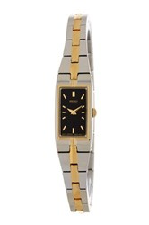 Seiko Women's Two Tone Bracelet Watch Metallic