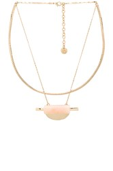 Hoss Intropia Necklace Metallic Gold