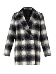 Theory Cafe Tartan Effect Coat