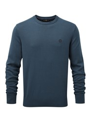 Henri Lloyd Men's Moray Regular Crew Neck Knit French Navy