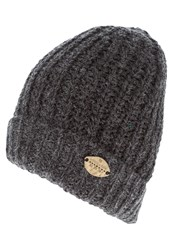 Scotch And Soda Hat Black Melange Mottled Black