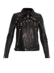 R 13 Studded Leather Jacket