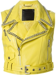 Philipp Plein 'Ella' Gilet Yellow And Orange
