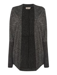 Label Lab Cocoon Lightweight Cardi Charcoal