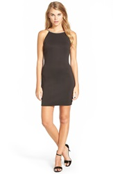 Speechless 'Tubula' Scuba Body Con Dress Black Jm