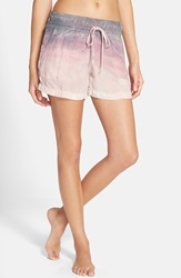 Hard Tail Slouchy Shorts Pale Pink Dusk