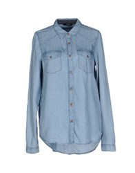 Only Denim Denim Shirts Women Blue