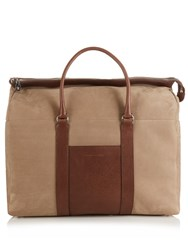 Brunello Cucinelli Grained Leather Holdall