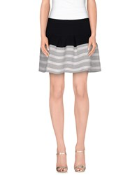 Le Ragazze Di St. Barth Skirts Mini Skirts Women Light Grey