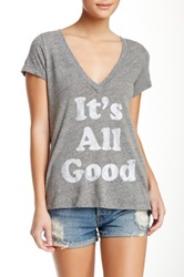 Rebel Yell It's All Good Classic Tee Gray