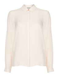 Mary Portas Gabriella Button Detail Soft Shirt Nude