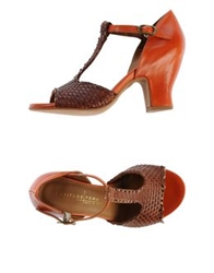 Latitude Femme Sandals Brick Red