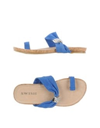 Swish Thong Sandals Orange