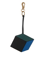 Pierre Hardy Cube Leather Key Ring