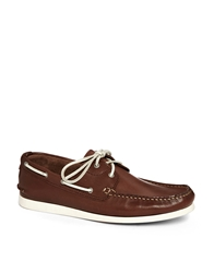 Selected Homme Philip Boat Shoes Brown
