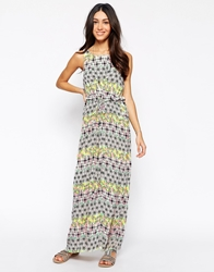 Meghan Fabulous Ubud Maxi Dress Greenpink
