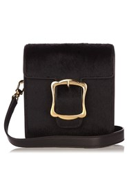 Simone Rocha Buckle Calf Hair Cross Body Bag