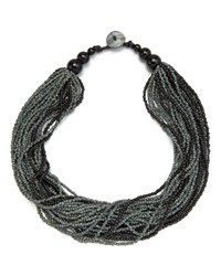 East Multi Beaded Necklace