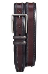 Mezlan Men's Diver Leather Belt
