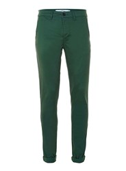Topman Bright Green Stretch Skinny Chinos