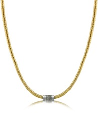 Orlando Orlandini Capriccio Diamond 18K Gold Chain Snake Necklace