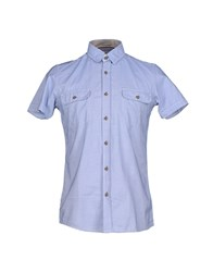 Selected Homme Shirts Shirts Men Blue