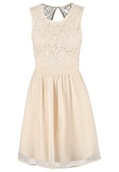 Only Onlisa Cocktail Dress Party Dress Whitecap Gray Beige