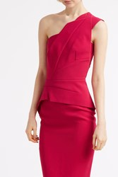 Roland Mouret Lynford Dress Pink