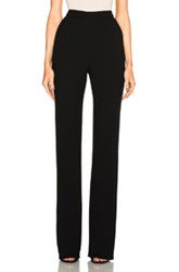 David Koma High Waist Trousers In Black