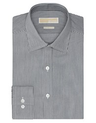 Michael Michael Kors Slim Fit Pencil Stripe Dress Shirt Night