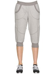 Adidas By Stella Mccartney Essentials Organic Cotton Jogging Pants