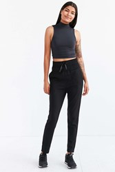 Silence And Noise Opel Double Waistband Pull On Pant Black