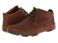 Olukai Kamuela Red Earth Seal Brown Men's Flat Shoes