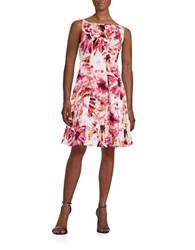 Maggy London Floral Fit And Flare Dress Primrose