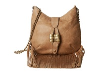 Leather Rock Hh26 Almond Handbags Brown
