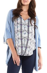 Women's Tart Maternity 'Harlyn' Cotton And Cashmere Maternity Wrap Cardigan