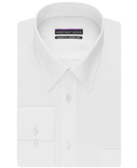Geoffrey Beene Non Iron Bedford Cord Solid Dress Shirt