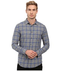 Diesel S Tas Shirt Sea Blue Men's Clothing