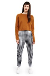 Esprit By Opening Ceremony Gingham Pants Black White