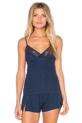 Only Hearts Club Feather Weight Rib Cami Navy