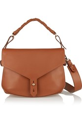 Thakoon Hudson Leather Shoulder Bag Brown