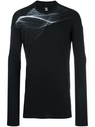 Julius Longsleeved T Shirt Black