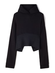 Vetements Extra Long Sleeved Hoodie Black