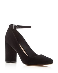 Via Spiga Selita Ankle Strap Pumps Black
