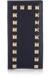 Valentino The Rockstud Leather Phone Case