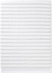 Cb2 Channel White Cotton Bath Towel